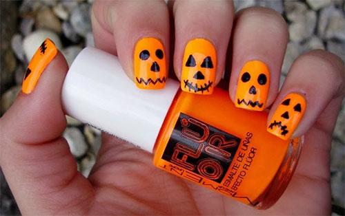 20-Inspiring-Scary-Halloween-Pumpkin-Nail-Art-Designs-Ideas-Stickers-2014-5 - 20-Inspiring-Scary-Halloween-Pumpkin-Nail-Art-Designs-Ideas-Stickers